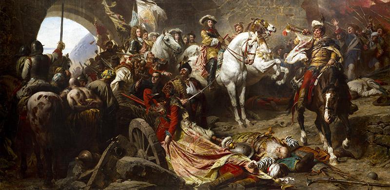 """Benczúr Gyula: """"Budavár visszavétele 1686-ban"""